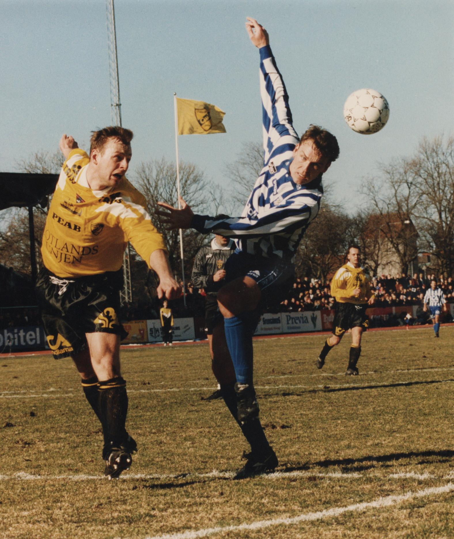 Svenska cupen mot Ifk Göteborg 1995