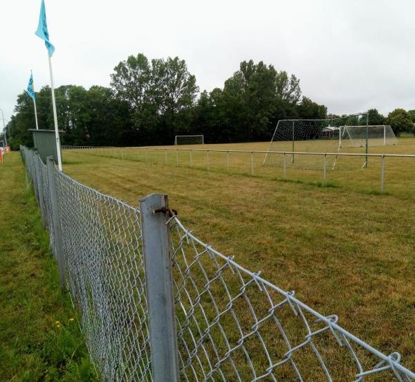 Hoburgsvallen, Burgsviks IP. Invigd 1965 Hoburgs IF och Burgsviks BoIS hemmaplan.
