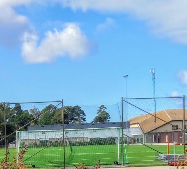 """Säve IP, Visby. Säveskolans IP, (från 1971) var en grusplan som Kommunen planterade gräs på, i slutet av 1980-talet. 2018/19 byggdes """"Säveplanen"""" om och Visby fick sin andra konstgräsplan. Säve IP har varit en fast och/eller tillfällig hemmaplan, för olika lag, tex Visby BoIS, Visby IBK/Kappelshamn och Visby IFK (Innerstads Fotbollsklubb)."""