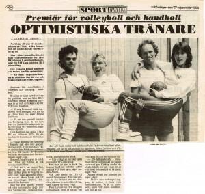 1-volleyboll ga 1986-09-27