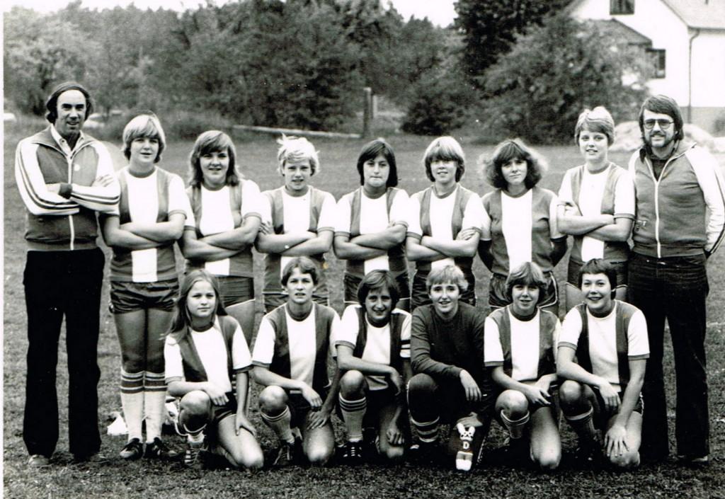 Dalhem IF damlag 1978